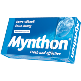 Леденцы без сахара Mynthon Extra Strong
