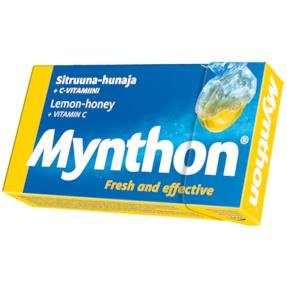 Леденцы с витамином С Mynthon вкус мёд-лимон