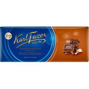 FAZER молочный шоколад с фундуком