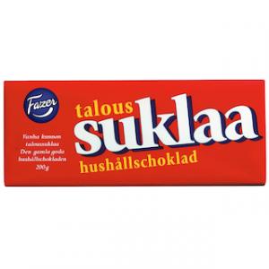Финский шоколад FAZER SUKLAA