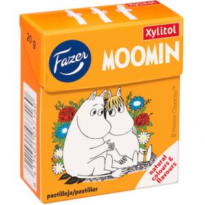 Фруктовые пастилки без сахара Fazer Moomin