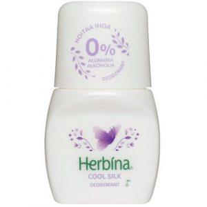 Дезодорант без алюминия и без спирта Herbina Cool Silk