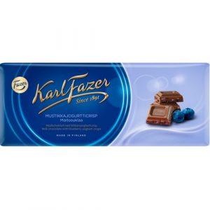 Фазер шоколад с черникой и йогуртом