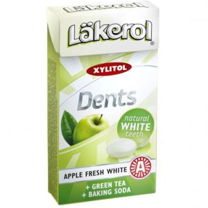 Пастилки без сахара Läkerol Dents Apple