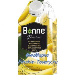 Банановый сок с мякотью 100% Bonne