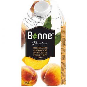 Сок персиковый 100% Bonne