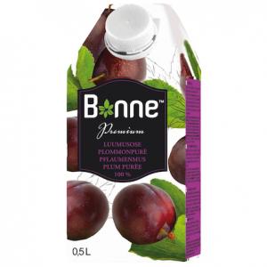 Сливовый сок-пюре 100% Bonne luumusose premium, 500 мл
