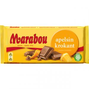 Marabou молочный шоколад с апельсином