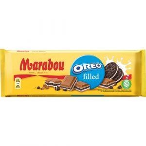 Marabou молочный шоколад с печеньем Орео