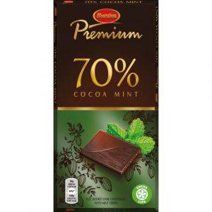 Тёмный шоколад с мятой из Финляндии