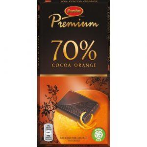 Тёмный шоколад с апельсином из Финляндии