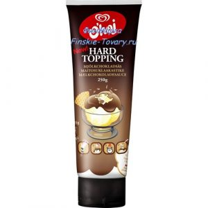 Шоколад твердеющий на десерте O'hoj Hard Topping