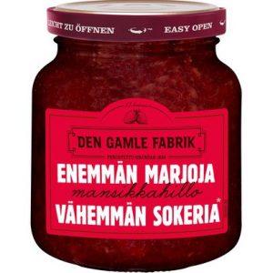 Клубничное варенье из Финляндии Den Gamle Fabrik