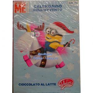 Новогодний шоколадный календарь Minion