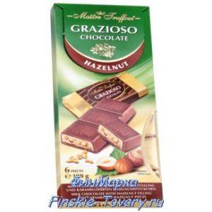 Молочный шоколад с начинкой из Финляндии