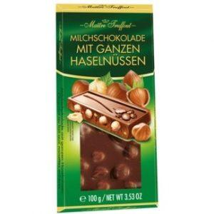 Молочный шоколад с фундуком из Финляндии