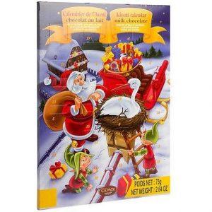 Новогодний Шоколадный календарь