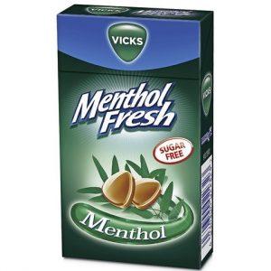 Леденцы без сахара Vicks Menthol Fresh