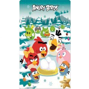 Новогодний Шоколадный календарь Fazer Angry Birds, 110 гр