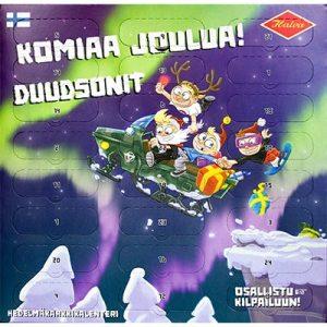 Новогодний шоколадный календарь Duudson, 300 гр