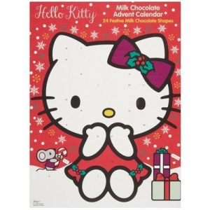 Новогодний Шоколадный календарь Hello Kitty