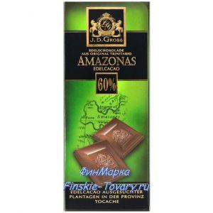 темный шоколад из Финляндии