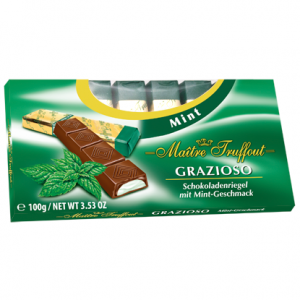 Шоколад из Финляндии мятный