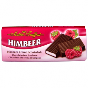 Шоколад с малиновой начинкой Maitre Truffout