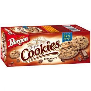 Печенье Bergen Cookies с шоколадом, 145 гр