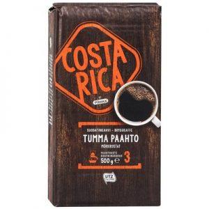 Кофе молотый тёмной обжарки Pirkka Costa Rica Tumma