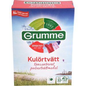 Cтиральный порошок для цветного белья Grumme Kulortvatt, 1.12 кг