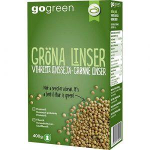 зелёная чечевица