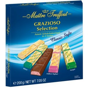 Grasiozo набор шоколадных конфет ассорти