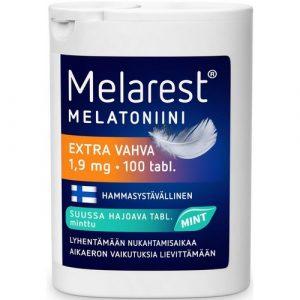 Melarest_Extra мелатонин мятный вкус