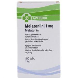Melatoniini мелатонин для сна
