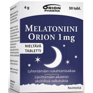 Melatonin_Orion мелатонин для сна