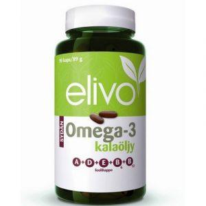Elivo омега 3 и витамины