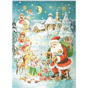 Новогодний шоколадный адвент календарь Детский, 85 гр