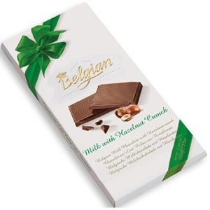 бельгийский молочный шоколад с фундуком