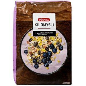 Мюсли с фруктами Pirkka kilomysli 1 кг