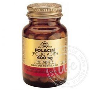 Фолиевая кислота Солгар Solgar Folacin