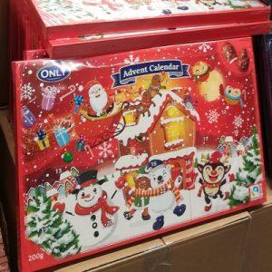 Новогодний шоколадный календарь Only