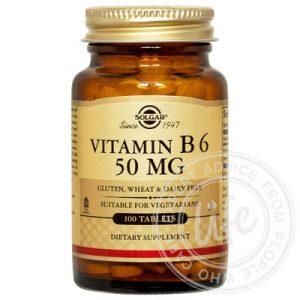 солгар solgar_vitamin_b6_50