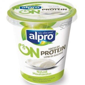 Alpro соевый йогурт