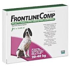 Средство от клещей и блох для собак FRONTLINE