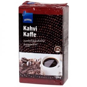 Молотый кофе из Финляндии с мягким вкусом Rainbow