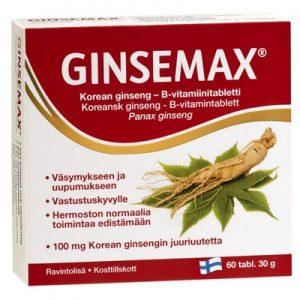 ginsemax финские витамины от усталости